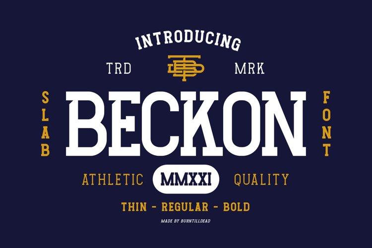 Beckon example image 1