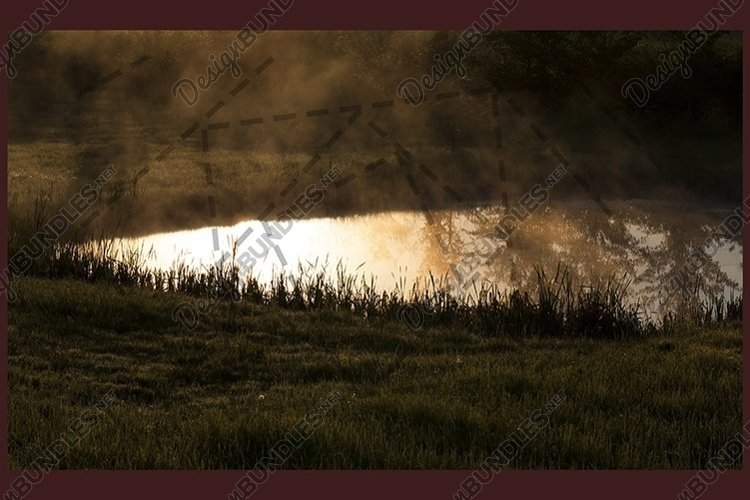 fog and smoke from lake example image 1