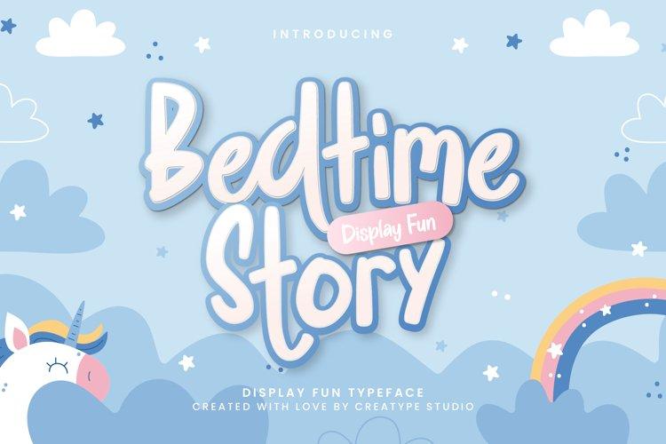 Bedtime Story Display Fun example image 1