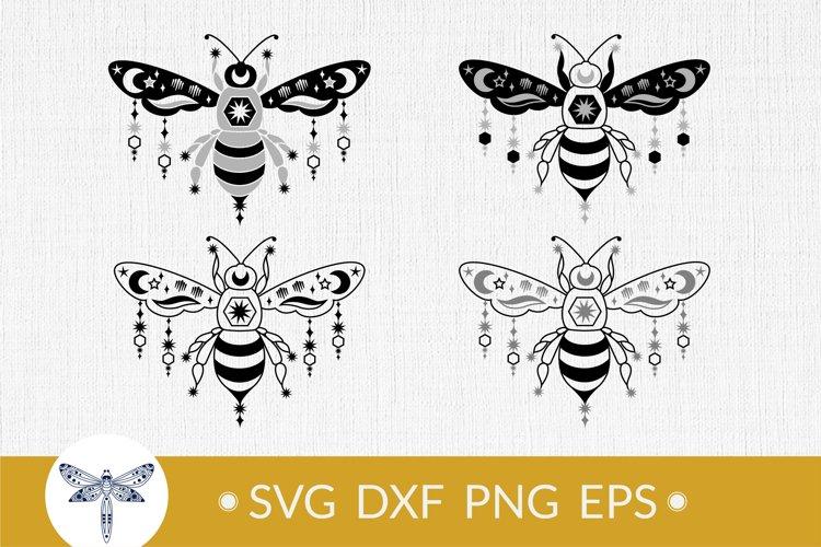 Bee SVG for t-shirt design, Celestial bee svg, Honey bee SVG