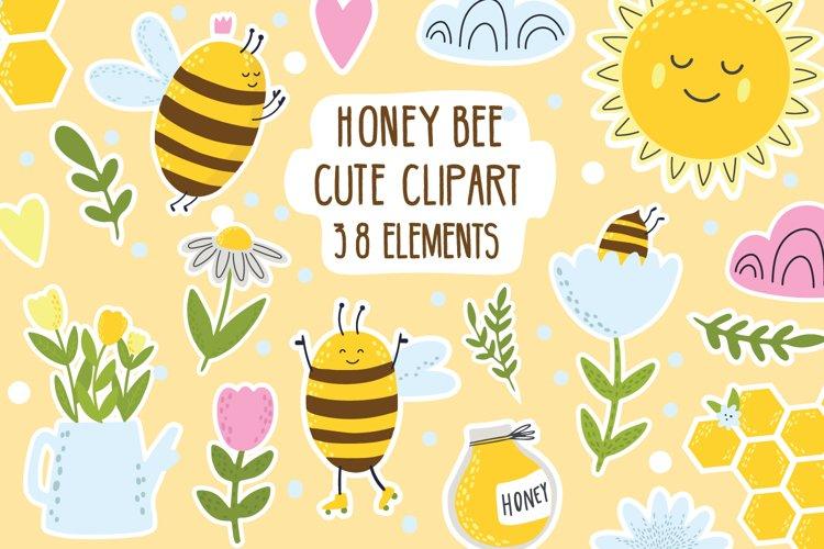 Bee svg / bee clipart / bumble bee stickers / queen bee svg