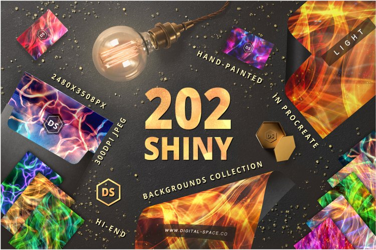 202 Shiny Backgrounds example image 1