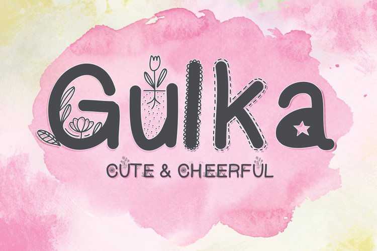Gulka font example image 1