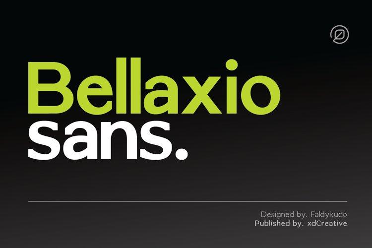 Bellaxio Sans example image 1