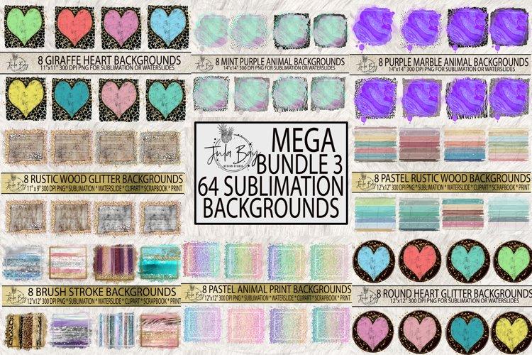 Sublimation Backgrounds Bundle Best Sellers Glitter Brush