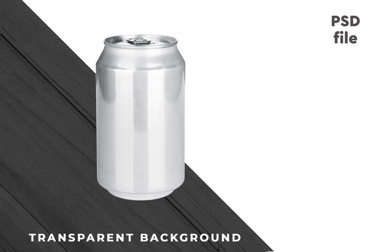 Beverage Can PSD #04