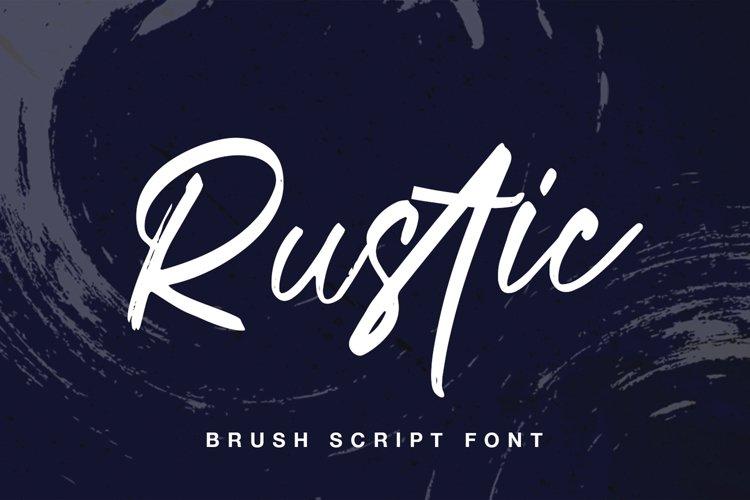 Rustic Brush example image 1