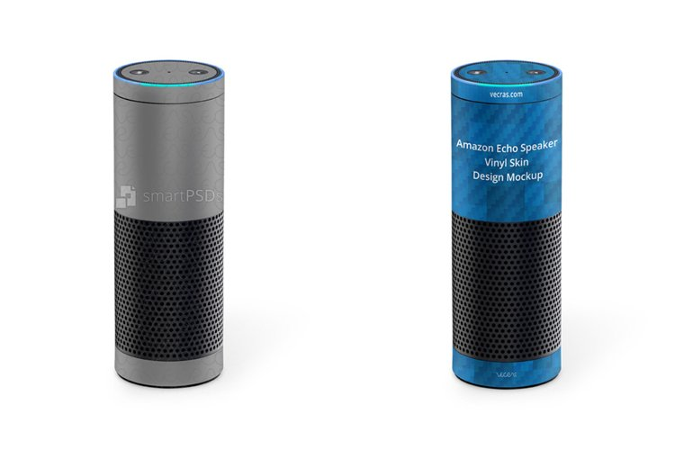 Amazon Echo Speaker Vinyl Skin Design Mockup example image 1
