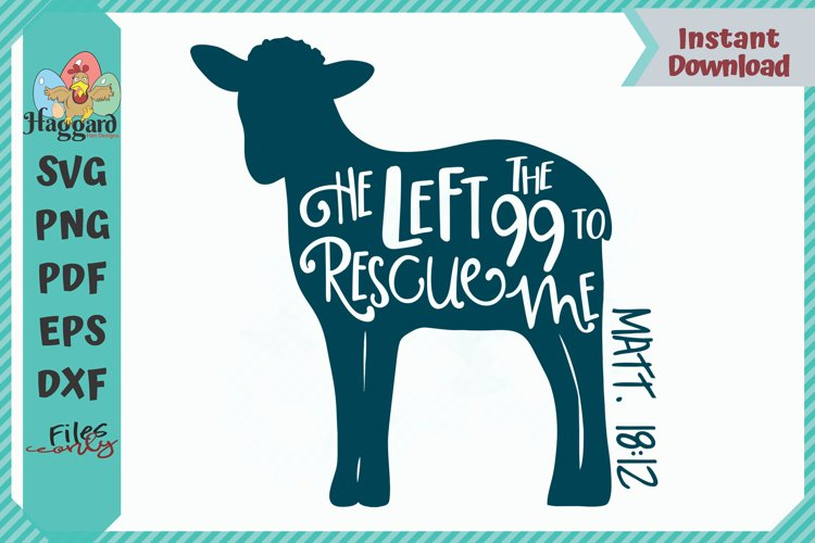 HHD He Left the 99 To Rescue Me SVG example image 1