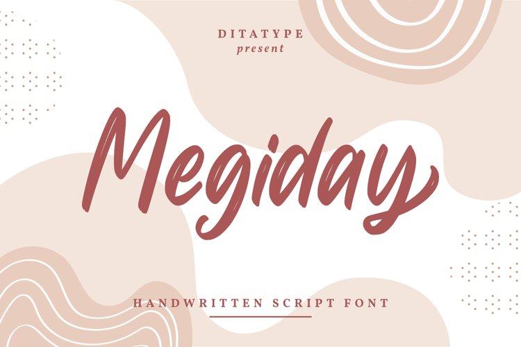 Megiday-Elegant Handwritten Font example image 1