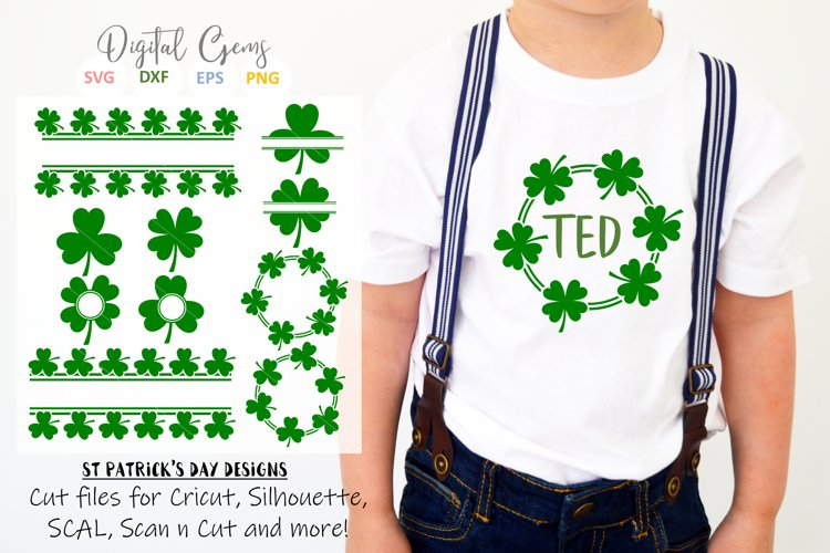 St Patricks day Shamrock / Clover designs