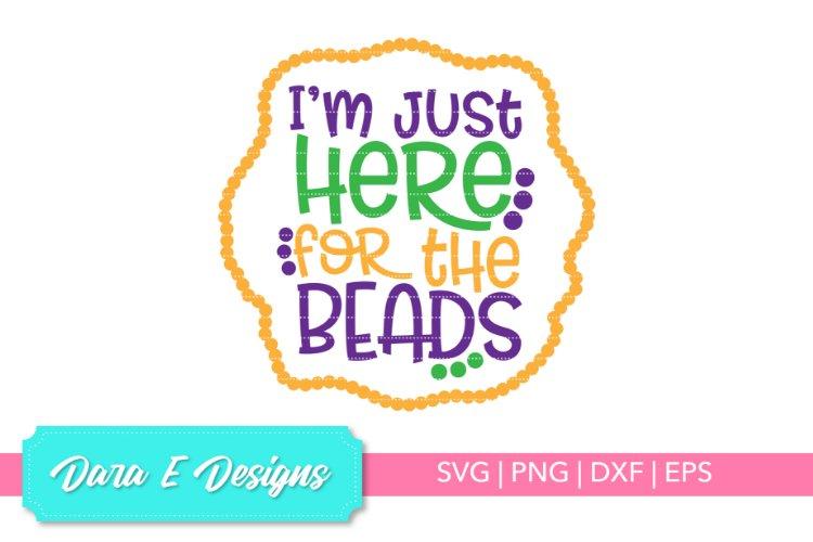Mardi Gras SVG | Mardi Gras Beads | Mardi Gras Shirt Design example image 1