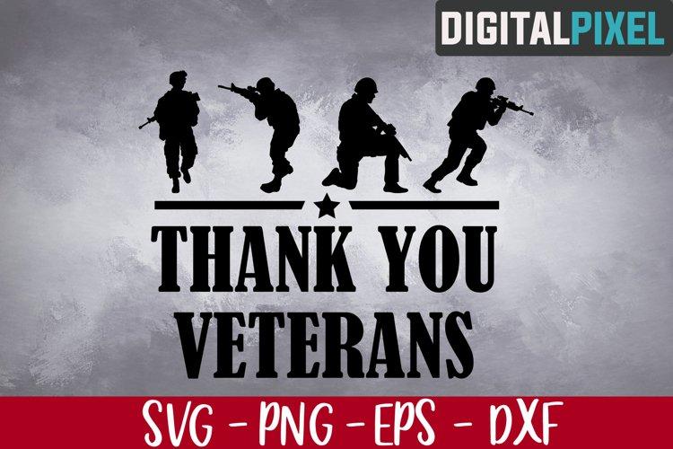 Thank You Veterans Svg, Veteran Svg, Military Svg, Veterans