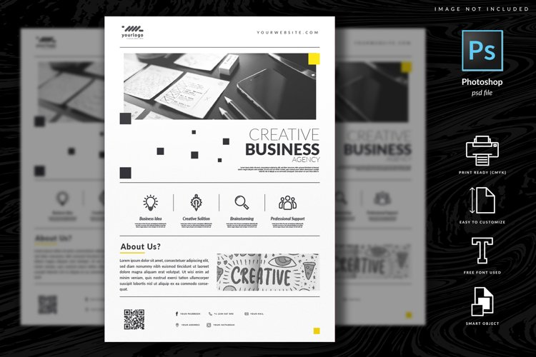 Multipurpose Corporate Flyer Template Vol. 9 example image 1