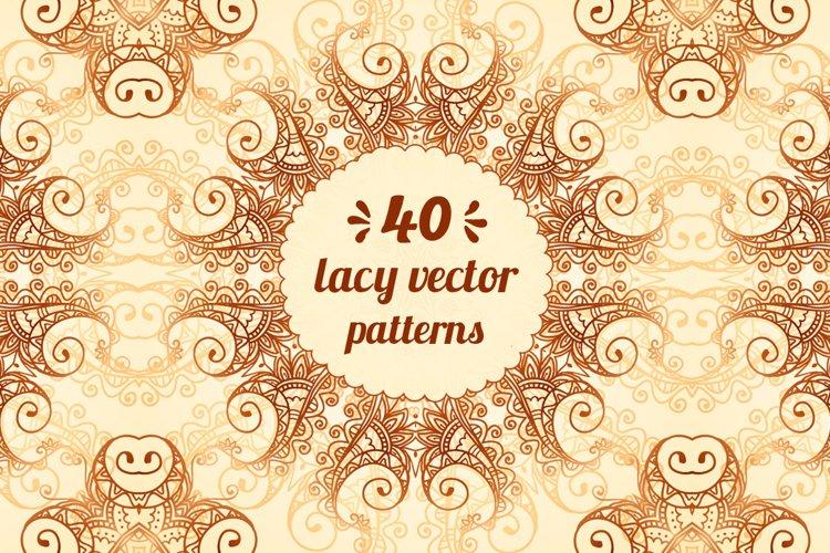 40 wonderful vintage vector patterns