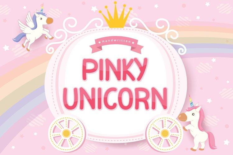 Pinky Unicorn example image 1