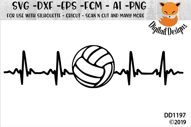 Volleyball EKG SVG