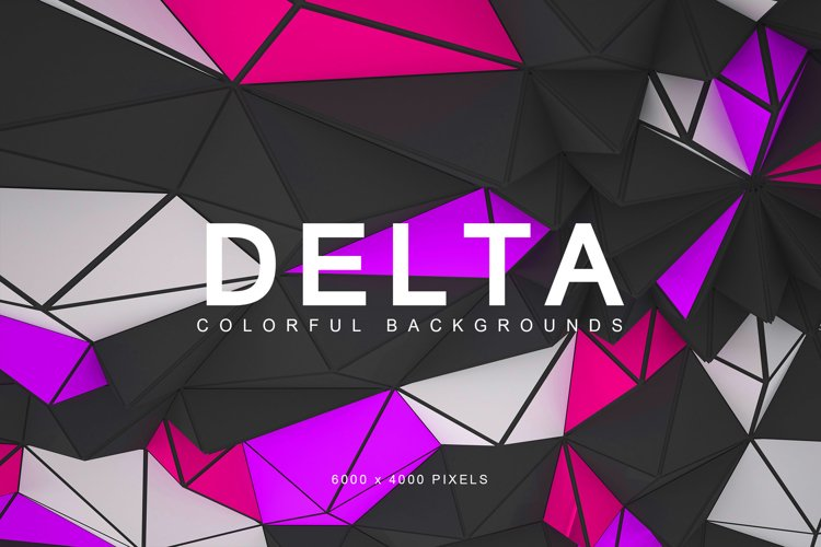 Delta Colorful Backgrounds 1 example image 1