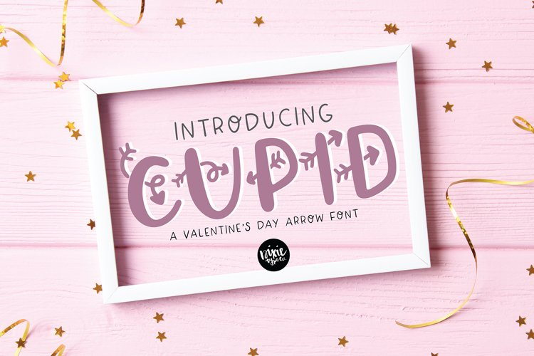 CUPID Valentines Day Font example image 1