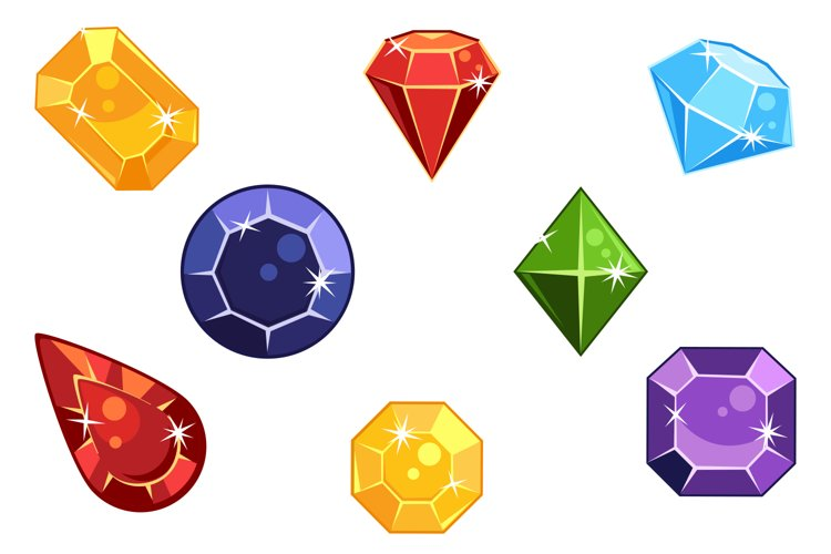 Gems Icons Pack example image 1