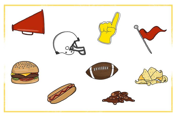Fall Clipart-Football Clipart-Fall Food Clipart-foam finger Clipart-Nachos clipart-Football Flag-Helmet clipart-Hotdog clipart-Hamburger