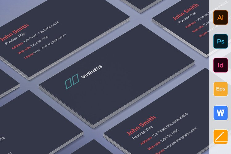 Business Consultant Business Card example image 1