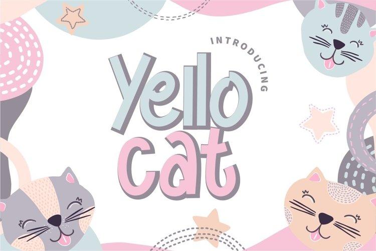 Yello Cat example image 1