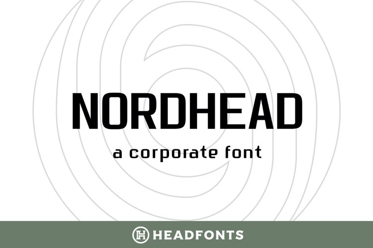 Nordhead Business & Corporate Font example image 1