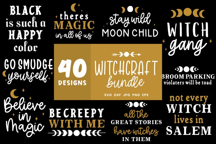 Witchcraft Svg | Witch Svg Bundle | Wiccan Svg Cut Files