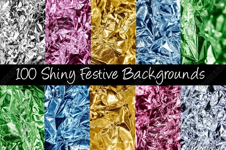 100 Shiny Foil Backgrounds example image 1
