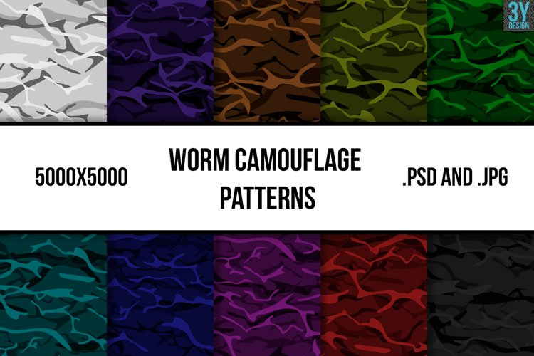 Worm Camouflage Patterns