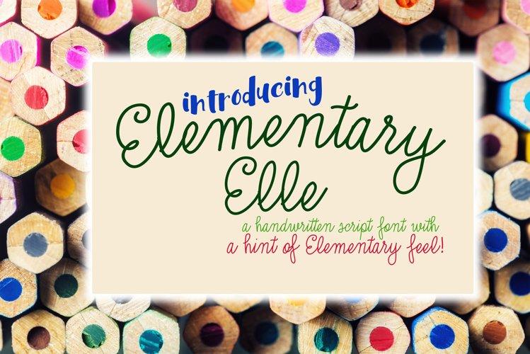 Elementary Elle
