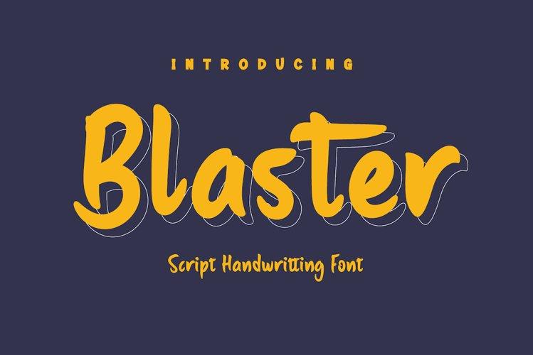 Blaster example image 1