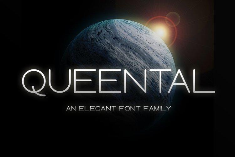 Queental - Elegant Sans Font Family example image 1