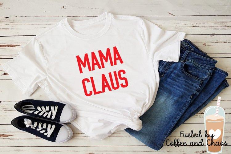 Mama Claus SVG