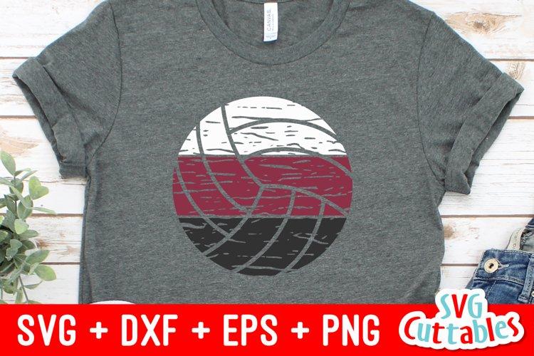 Volleyball SVG | Distressed Volleyball | Shirt Design
