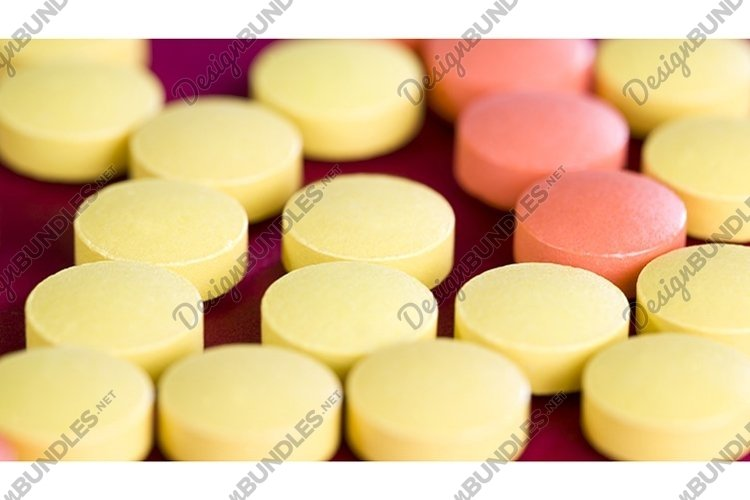 a group of multicolored tablets example image 1