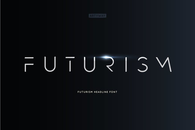 Futurism Headline Font example image 1