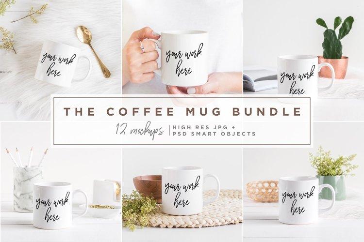 The Coffee Mug Bundle - 12 Mockups example image 1