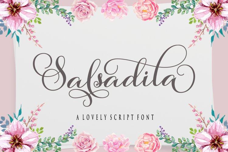 Salsadila Script example image 1