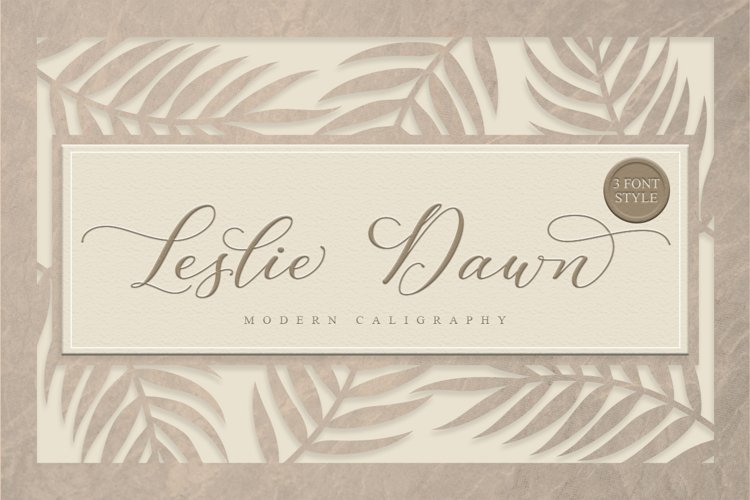 Leslie Dawn Script example image 1