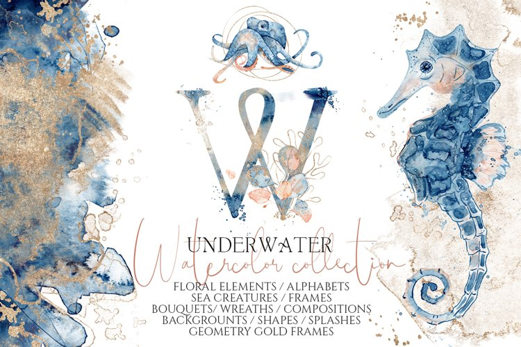 Underwater Watercolor Collection example image 1