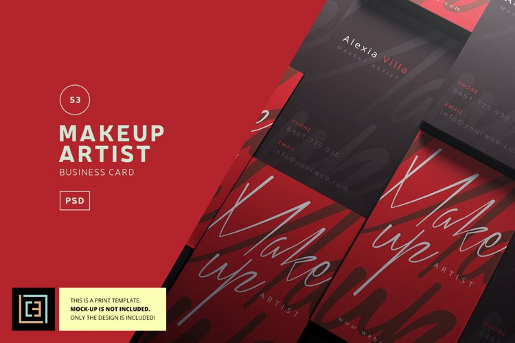 Makeup Artist Business Card - BC053