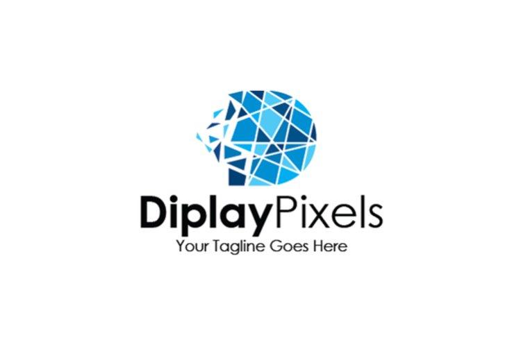Pixels LetterD Logo example image 1