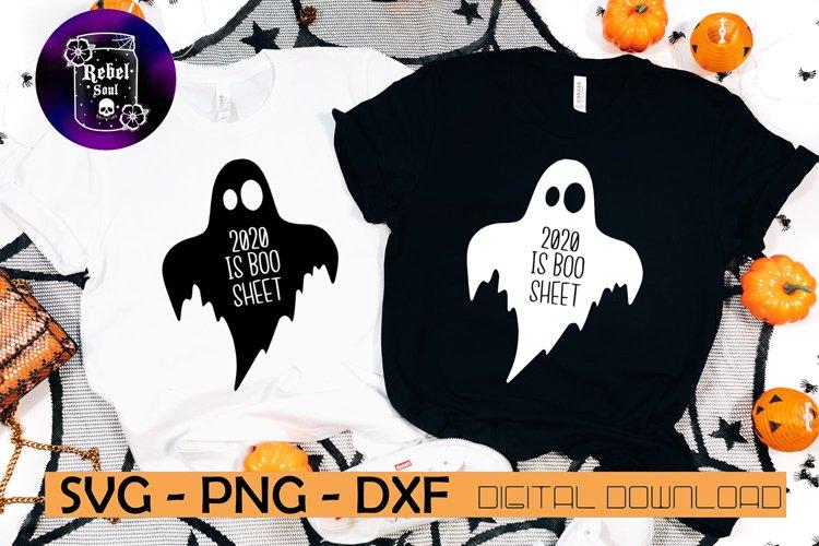 2020 is boo sheet SVG, PNG, DXF Pdf file, digital download