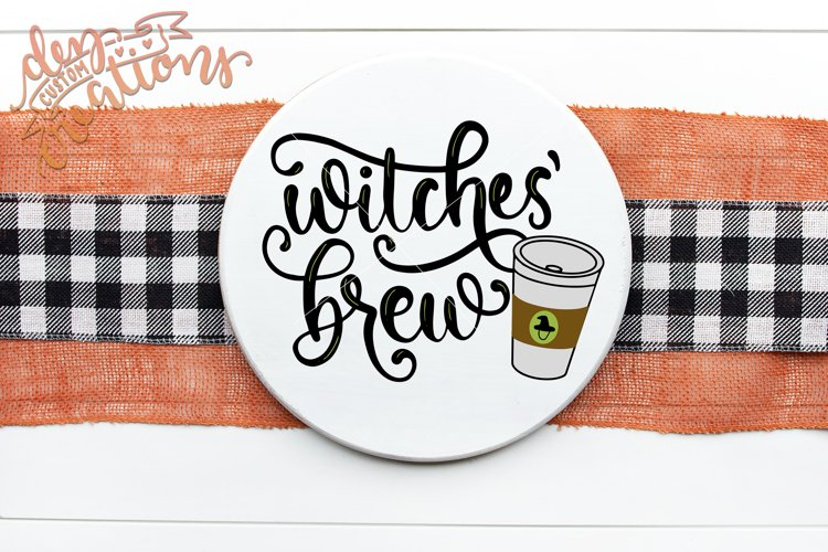 Witches Brew - Halloween Design - SVG DXF cut files
