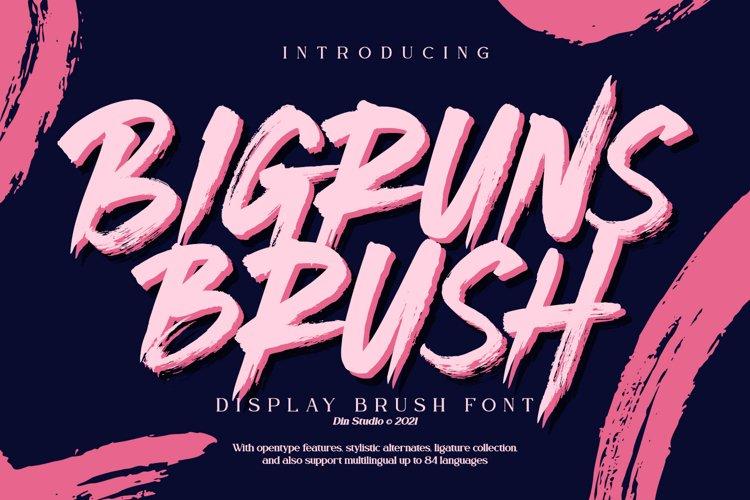Bigruns Brush example image 1
