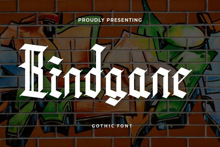Web Font Bindgane - Blackletter Font example image 1