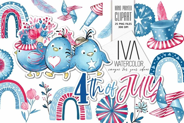 4th of July , Independence Day ClipArt