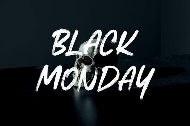 BLACK MONDAY example image 1